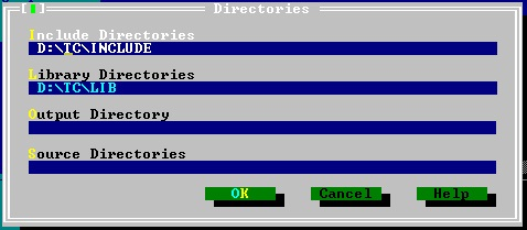 you can install turbo c++ in any directory but make sure the path is