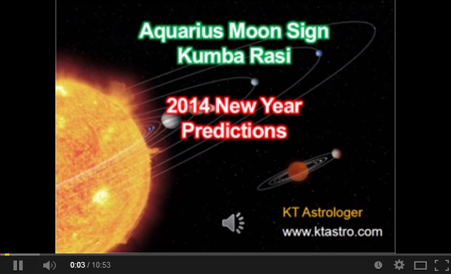 Kumba Rasi (Aquarius) - 2014 New Year Predictions - Page 1 / 2